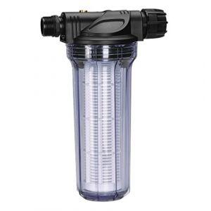 Gardena Filtre 01730-20 anti sable 6000 l/h : filtre efficace pour les pompes de jardin et les stations de pompage, avec élément filtrant (1730-20)