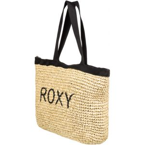 Roxy Heard That Sound - Tote bag en paille - Noir