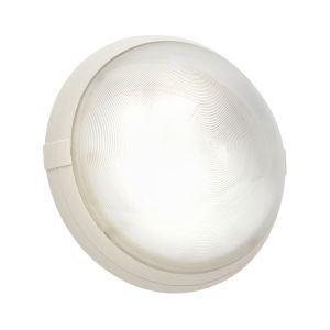 Sarlam Hublot SUPER 400 blanc en verre E27 avec détecteur 500570