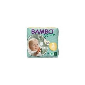 Bambo Nature Couches jetables taille 3 Mide 5-9 kg - 33 couches