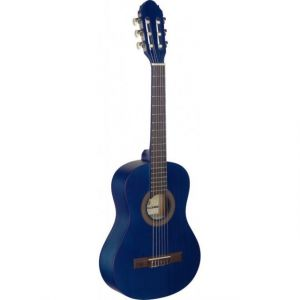 Stagg C410 M Blue - Guitare classique enfant 1/2 bleue