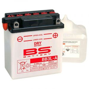 BS Battery Batterie BS YB3L-A AVEC ACIDE