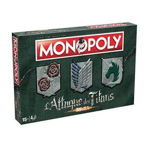 Winning Moves Jeu de société Monopoly L'Attaque des Titans