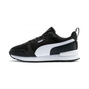 Puma Chaussure Basket R78 Youth pour Enfant, Noir/Blanc, Taille 38, Chaussures