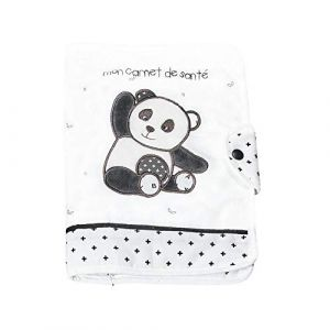 Sauthon Protège carnet de santé Panda Chao Chao Baby Deco