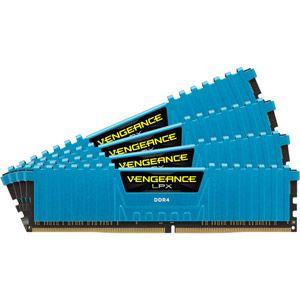 Corsair CMK32GX4M4A2666C16 - Barrettes mémoire Vengeance LPX Series Low Profile 32 Go (4x 8 Go) DDR4 2666 MHz CL16 DIMM