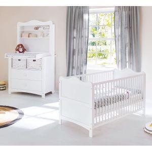 Pinolino 090023BR - Ensemble chambre bébé Florentina avec plan d'étagère