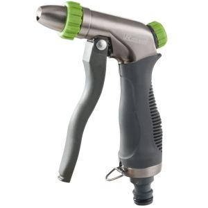 Ribiland PRA/TB.1315 - Pistolet d'arrosage métal avec revêtement Soft-Touch