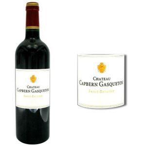 Château Capbern Gasqueton 2011 - Vin rouge de Bordeaux (Saint-Estèphe)