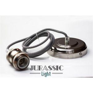 Jurassic-light Ampoule vintage SUSPENSION ARGENT