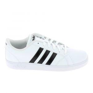 Adidas BASELINE - BLANC - junior - CHAUSSURES BASSES