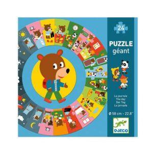 Djeco Puzzles géants - la journée