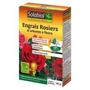 Solabiol Engrais rosiers et arbustes à fleurs - 750 gr. - engrais bio fleurs & arbustes