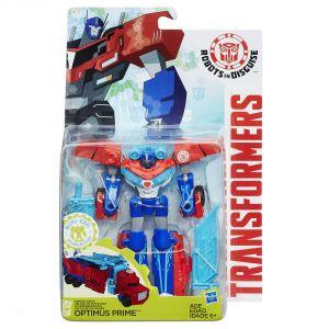 Hasbro Transformers Robots in Disguise : Deluxe Warrior Optimus Prime