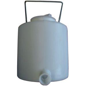 Biberon à veau plastique 1/2 rond (6 L)