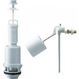 Siamp Mécanisme complet à tirette bouton chromé avec robinet classic 42-15el 38105007