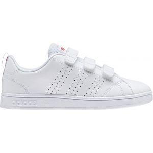 Adidas Chaussures VS Advantage Clean CMF Enfant blanc et rose
