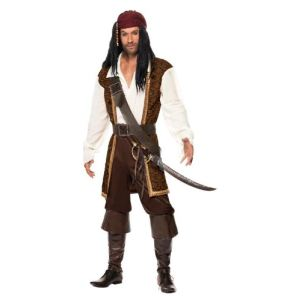 Costume de pirate homme (taille M)