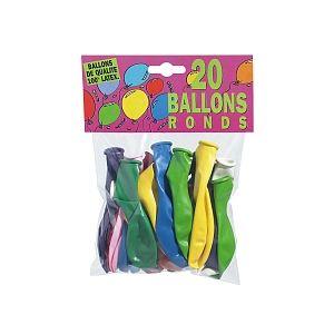 Ballon Pub 20 ballons D25