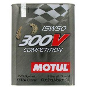 Motul Huile moteur 300V Competition 15W50 Essence et Diesel 2 L