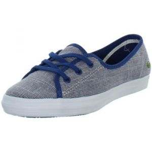 Lacoste Chaussures Baskets femme Ziane Chunky ref_43625 Bleu