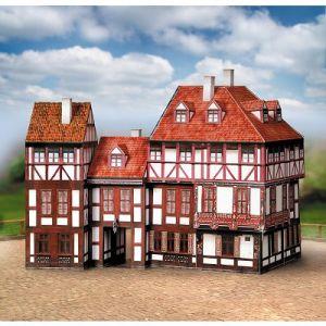 schreiber bogen 672 maquette en carton vieilles maisons coffret 5 comparer avec. Black Bedroom Furniture Sets. Home Design Ideas