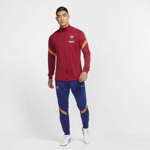 Nike Survêtement de football en maille FC Barcelona Strike pour Homme - Rouge - Taille L - Male
