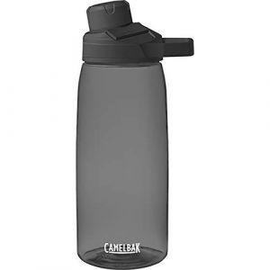 Camelbak Chute Mag 1L Gourde Bouteilles d'eau, Mixte, Chute Mag 1L Trinkflasche, Charcoal
