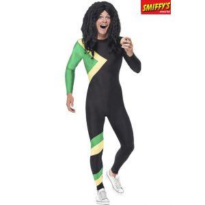 Smiffy's 21389M Déguisement Homme Héros Jamaïcain, Noir, Taille M