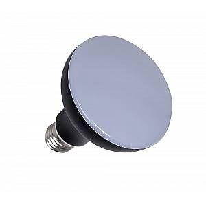 Ampoule LED aluminium R90 E27 - Noir - 12 W équivalence incandescence 75 W, 1000 lm - 3 000 K