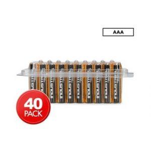 Duracell Pack de 40 piles AAA