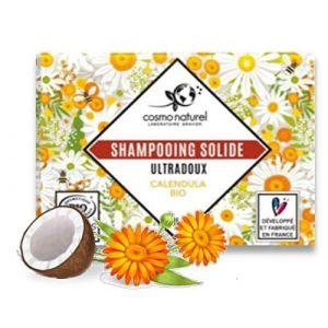 Cosmo Naturel Shampooing Solide Ultradoux Calendula Bio - 85 g