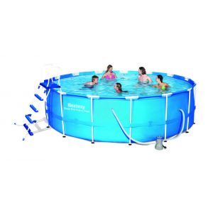 Bestway bw56100 - Piscine tubulaire ronde 4.57 x 1.22 m