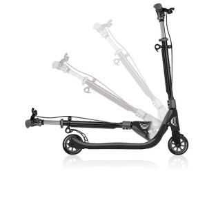 Globber Trottinette One NL125 Deluxe Titanium - Charcoal Grey