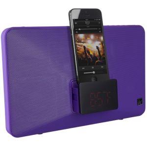 KitSound Fresh - Enceinte sans fil radio-réveil dock Apple