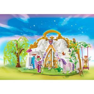 Playmobil 5208 Fairies - Parc enchanté des fées et licorne transportable