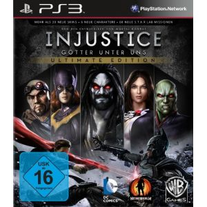Injustice : Götter unter uns - Ultimate Edition [import allemand] [PS3]