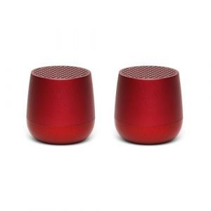 Lexon Twin Mino+ - Red - Enceinte sans fil
