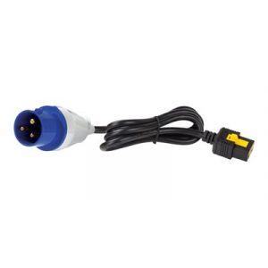 APC Câble d'alimentation - IEC 60309 16A (M) pour IEC 60320 C19 - 16 A - 3 m - verrouillé - noir - pour P/N: AP8459WW, AP8659, DLT3000RMI2U, SMT2200RMI2UC