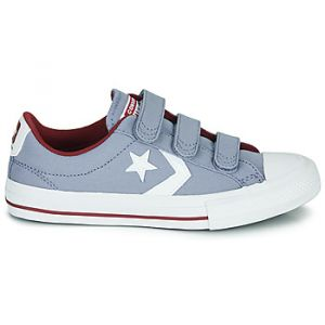 Converse Chaussures enfant Star Player 3V Varsity Canvas jaune - Taille 36,37,38,27,28,29,30,31,32,33,34,35