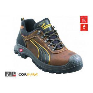 Puma Safety 640730 Chaussures de sécurité taille 42 marron, noir