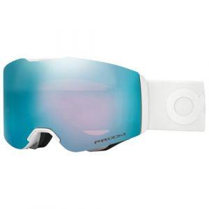 Oakley Fall Line Masque de Ski Mixte Adulte, Factory Pilot Whiteout/Prizm Snow Sapphire Iridium
