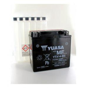 Yuasa Batterie moto YTX14-BS