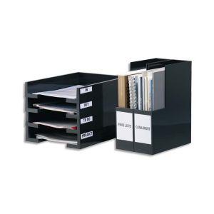 Durable Sachet de 10 Porte-étiquettes POCKETFIX adhésifs 18 x 75 mm