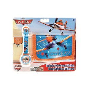 Mercier WD10451 - Coffret montre avec portefeuille et Disney Planes pour enfant