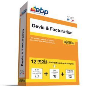 Devis & Facturation Dynamic 12 mois 2017 + VIP pour Windows
