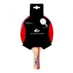 Athli-tech Raquette d'entrainement tennis de table Go Unique - Rouge