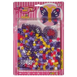 Hama Boîte de perles à repasser : Papillon