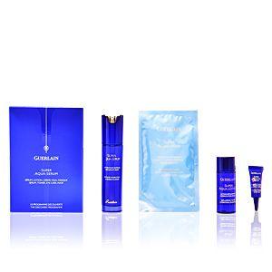 Guerlain Super Aqua-Serum - Coffret sérum, lotion, crème yeux masque