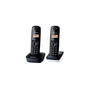 Image de Panasonic KX-TG1612FR - Téléphone sans fil 2 combinés